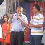 Primarul Ion Georgescu la Zilele Orasului Mioveni