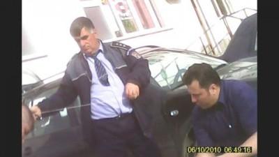 Comisar Puiu George + Agent Popescu - militieni depozit AG
