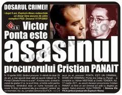Victor Ponta - Cristian Panait