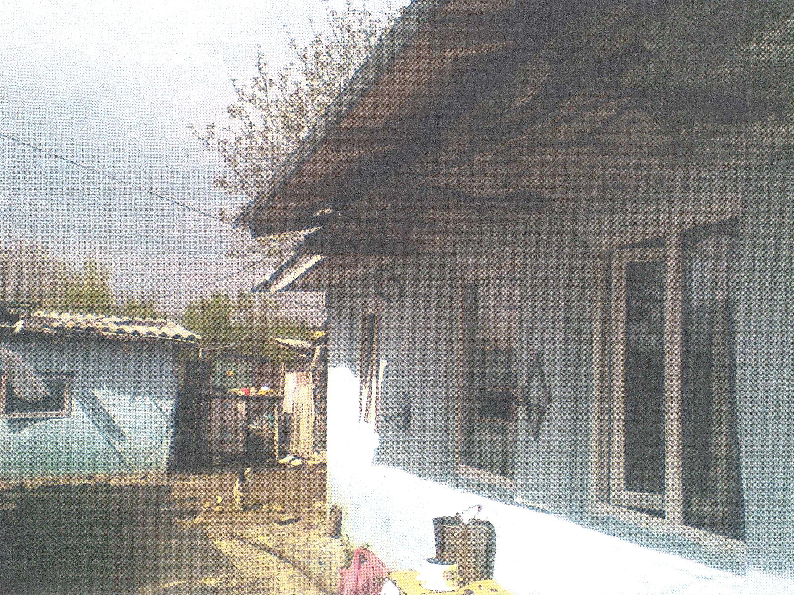 Casa victimei Tomulescu Gherghina