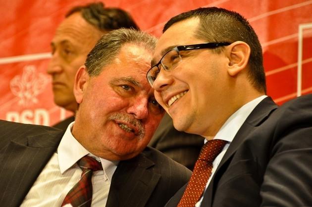 Ex-prefectul Constantin Nicolescu, infractor anuntat si de Ponta, pe Arena Nationala, ca-l va scapa de puscarie in ianuarie