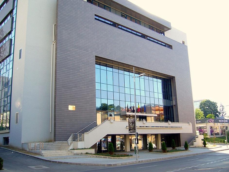 Sediul infractoarei de la secţia civilă a Tribunalului Argeş
