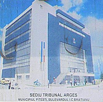 Sediul infractoarei de la Tribunalul Arges Mihaila Badea