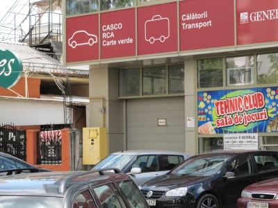 Depozitul BBE Media TOP al infractorilor de ziare si carti false, la usa metalica