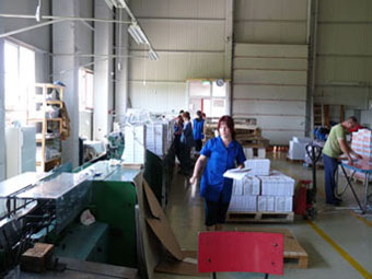 Infractorii in actiune la locurile de munca la tipografia Grafic Print