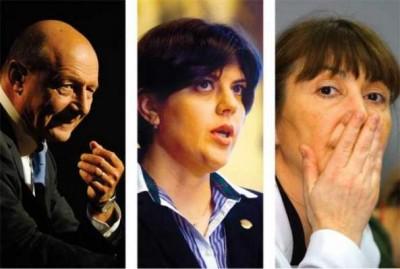 Echipa de şoc PDL, infractori fără scrupule Băsescu, Kovesita, Macohei