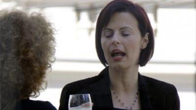 Ioana Bogdan criminală în robă