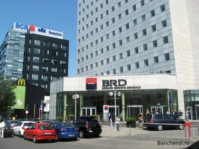 Sediul infractorilor BRD Bucureşti