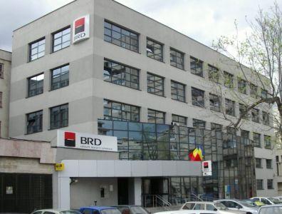 Sediul infractorilor de la BRD Piteşti