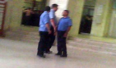 Jandarmi talhari abuzivi hoti ANAF Arges
