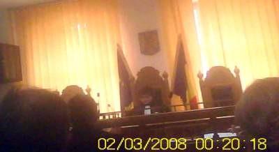 Terorista Baciu Rosita Elisabeta de la Judecătoria Rm. Vâlcea, ţigancă ordinară