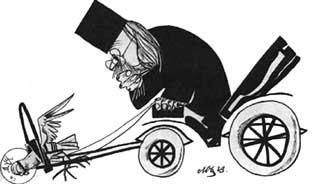 Protopopul Piteştiului, Dinu Laurenţiu, escroc la angajări de popi, mii de euro şpagă  pe cap de popă prost , blocat pe motocicletă