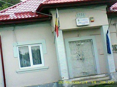 Secţia de poliţie Stâlpeni, sediul celor 4 poliţişti care l-au cercetat şi urmărit în mod abuziv pe Busuiocescu Pavel Paul