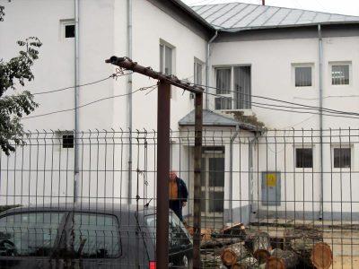 Ieşirea din spate a spitalului asasinelor
