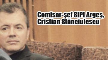 Șeful infractorilor, comisar șef SIPI-MAI Argeș, Stănciulescu Cristian