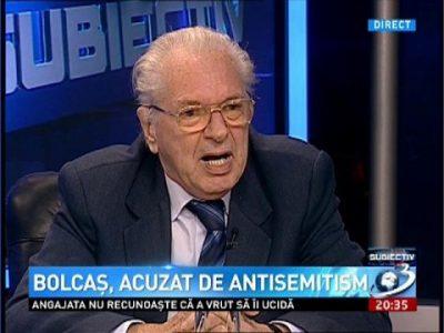 Lucian Bolcaș, complotist diversionist