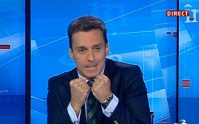Mircea Badea, jurnalist de rahat, a mâncat numai căcat, e bucuros că i-a reușit suspendarea din funcție a lui Coldea, temporar