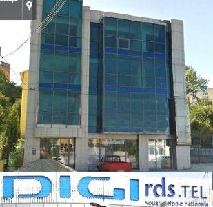 Sediul Pitești al escrocilor RCS-RDS